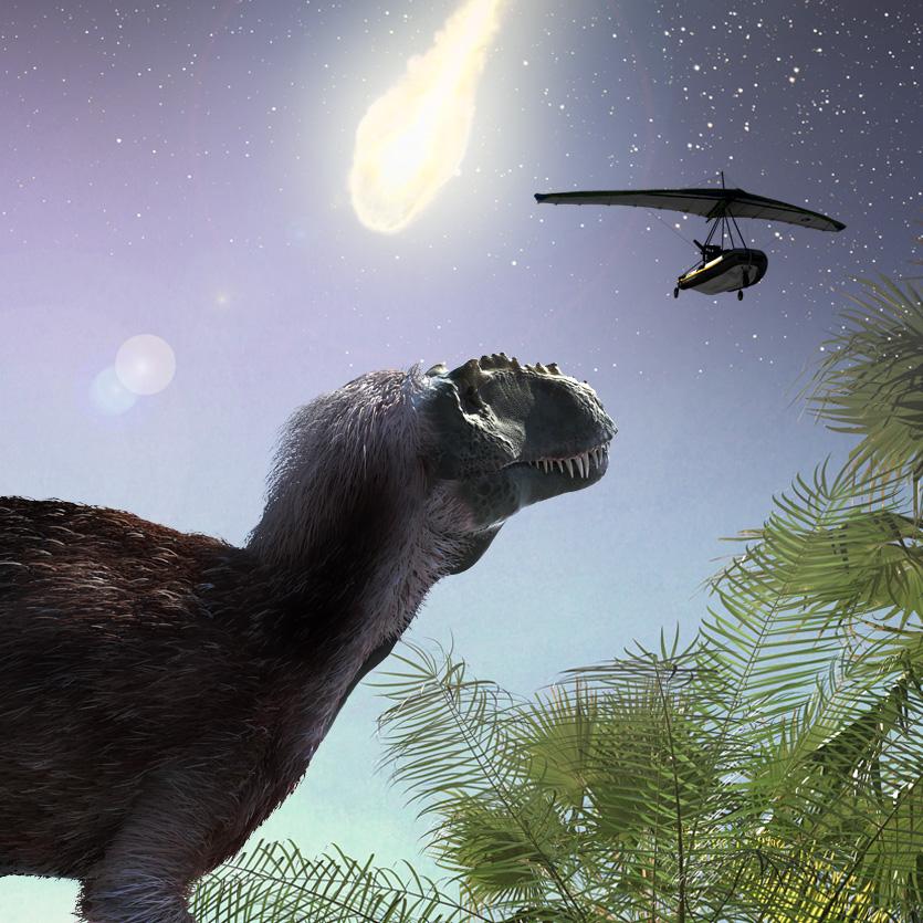 Dinosaurs at Dusk: The Origins of Flight
